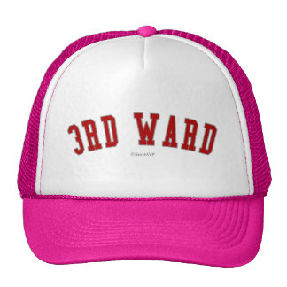 3rd Ward Trucker Hat