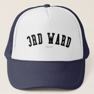 3rd Ward Trucker Hat