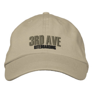 3rdAve Kiteboarding Embroidered Hat