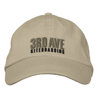 3rdAveKiteboardingStretch Embroidered Baseball Cap