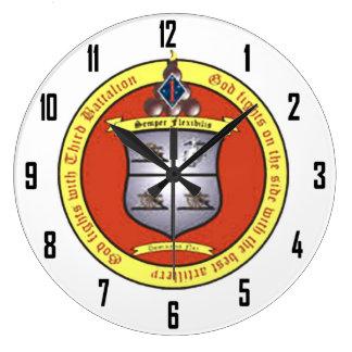 3ro 1ros INFANTES DE MARINA del BATALLÓN Reloj