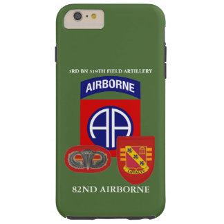 3ro 319TH CASO del iPHONE de la ARTILLERÍA DE Funda Para iPhone 6 Plus Tough