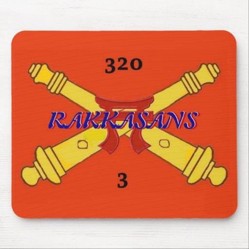 3ro 320a artillería Mousepad