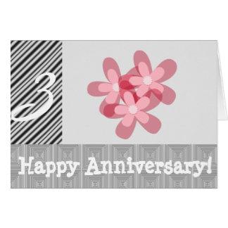 3ro aniversario de boda