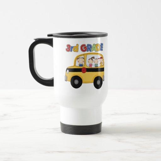 3ro Autobús de escuela primaria Tazas