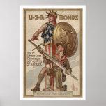 3ro Boy scout de la campaña del préstamo de la lib Poster