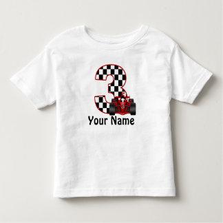 3ro Camisa personalizada muchacho del coche de