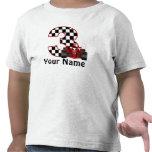 3ro Camisa personalizada muchacho del coche de car
