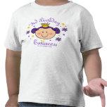3ro Camisa personalizada Twincess del cumpleaños