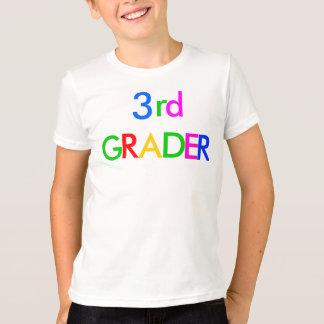 3ro camiseta del graduador