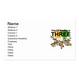3ro camisetas y regalos de balanceo del cumpleaños tarjetas de visita