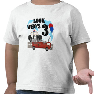 3ro camisetas y regalos del cumpleaños de los héro