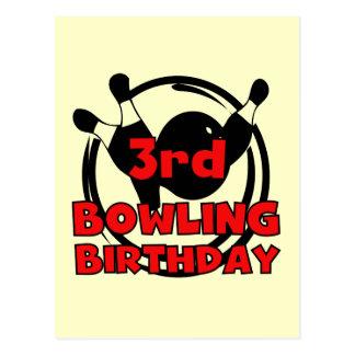 3ro Camisetas y regalos del cumpleaños de los Postales