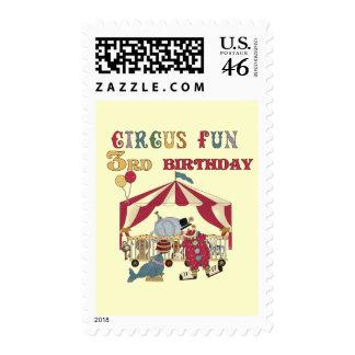 3ro camisetas y regalos del cumpleaños del circo