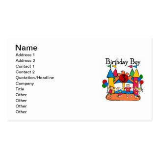 3ro camisetas y regalos del cumpleaños del tarjetas de visita