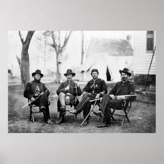 3ro Cuerpo del ejército: 1864 Póster
