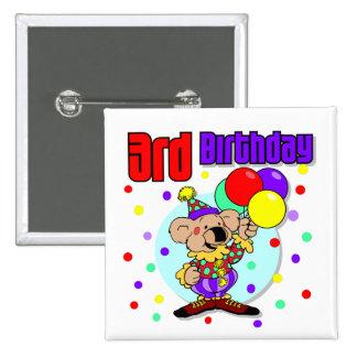 3ro Cumpleaños de Australia del cumpleaños Pin