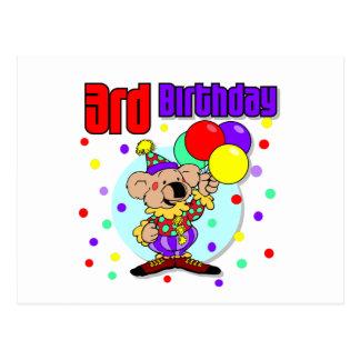 3ro Cumpleaños de Australia del cumpleaños Postal