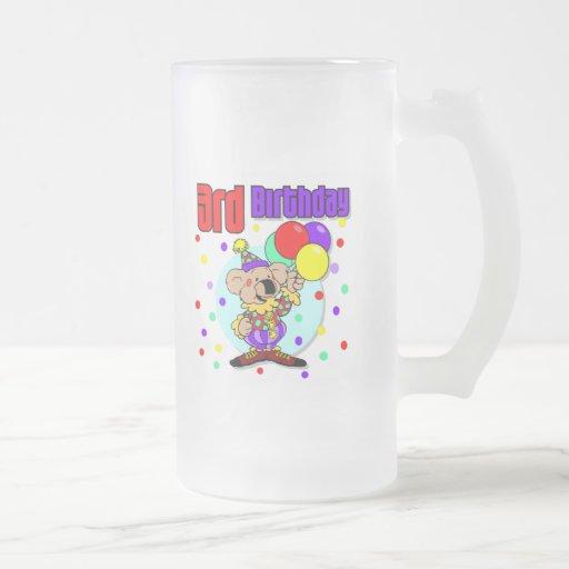 3ro Cumpleaños de Australia del cumpleaños Taza De Café