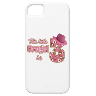 3ro cumpleaños de la vaquera iPhone 5 carcasa