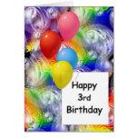 3ro cumpleaños feliz felicitación