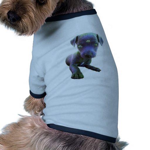 3ro ∆ del extranjero del ojo camiseta de perrito