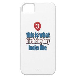 3ro diseños años del cumpleaños iPhone 5 Case-Mate carcasas