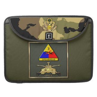 3ro División de la armadura Fundas Macbook Pro