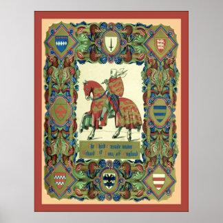 3ro El ~ de la cruzada Knights a Templar Poster