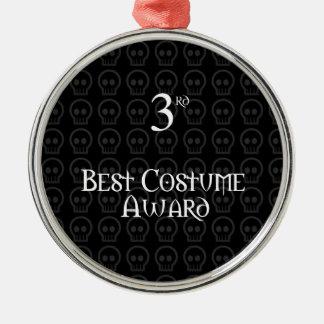 3ro El lugar B&W Morph el mejor premio del traje Adorno Navideño Redondo De Metal