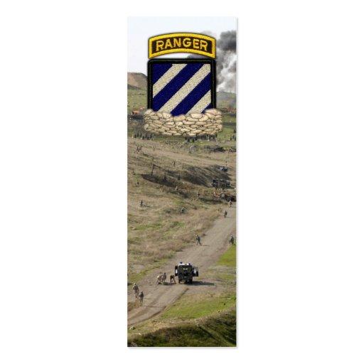 3ro El remiendo de la división de infantería revis Plantilla De Tarjeta De Visita