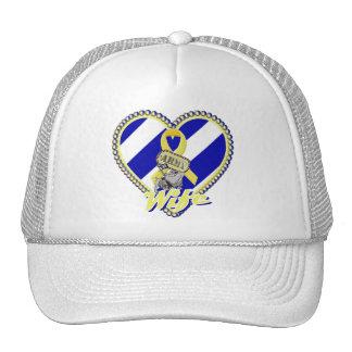 3ro esposa del ejército de la identificación gorras de camionero