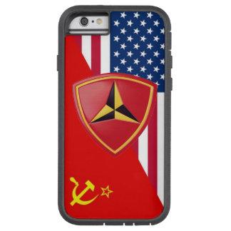 """3ro """"Esquema de la pintura de guerra fría """" de la Funda Para iPhone 6 Tough Xtreme"""