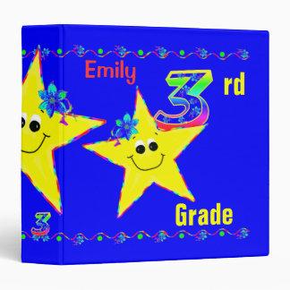 3ro Estrellas del smiley de las carpetas de la esc