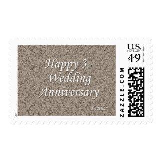 3ro feliz Aniversario de boda