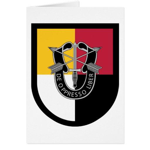 3ro Flash del grupo de las fuerzas especiales Tarjeta De Felicitación