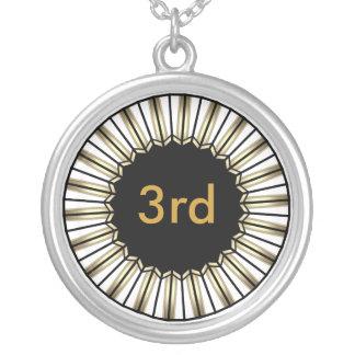 3ro ganador de bronce del lugar del collar