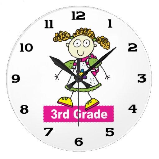 3ro grado de los chicas relojes