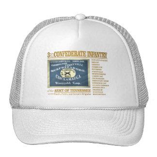 3ro Infantería confederada (BA2) Gorros