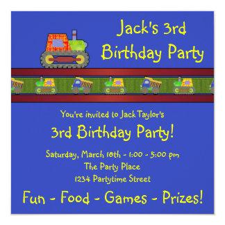 3ro invitación de la fiesta de cumpleaños de la