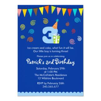 3ro Invitación del fiesta de los niños del