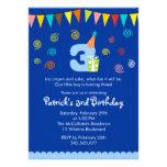 3ro Invitación del fiesta de los niños del cumplea
