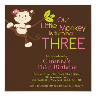 3ro invitaciones de la fiesta de cumpleaños del invitacion personal
