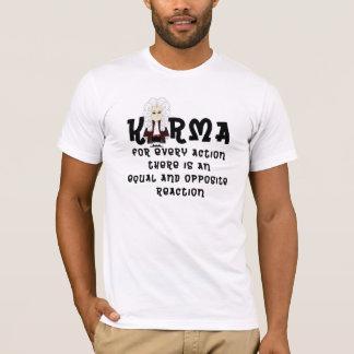 3ro law-V2 de las karmas y de Newton (camiseta del Playera