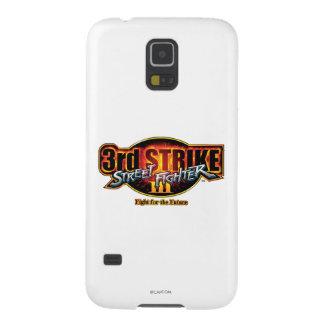 3ro logotipo 2 de la huelga de Street Fighter III Fundas De Galaxy S5
