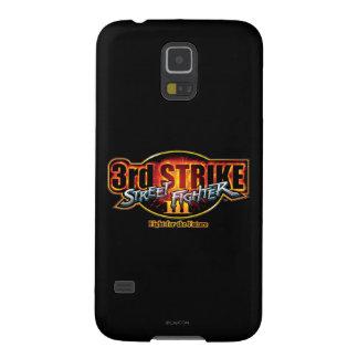 3ro logotipo de la huelga de Street Fighter III Fundas Para Galaxy S5