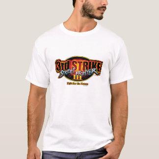 3ro logotipo de la huelga de Street Fighter III Playera