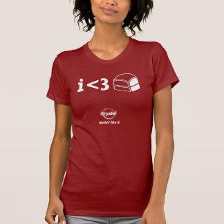 ¡3ro lugar de Krystal - I <3 Krystals! Camiseta
