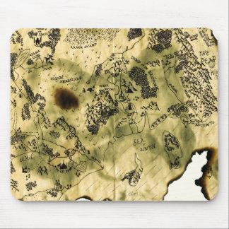 3ro Mapa del reino olvidado Tapetes De Ratones