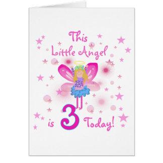 3ro Pocas camisetas y regalos del cumpleaños del á Tarjeta De Felicitación